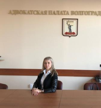 Photo ofАдвокат и юрист в Волгограде Лодягина Вероника Игоревна